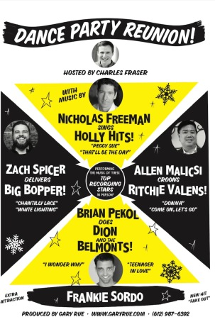 Buddy Holly Dance Party Reunion poster