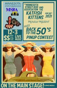 2021 Pin Up Poster