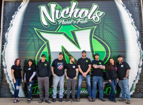 Nichols Team Photo